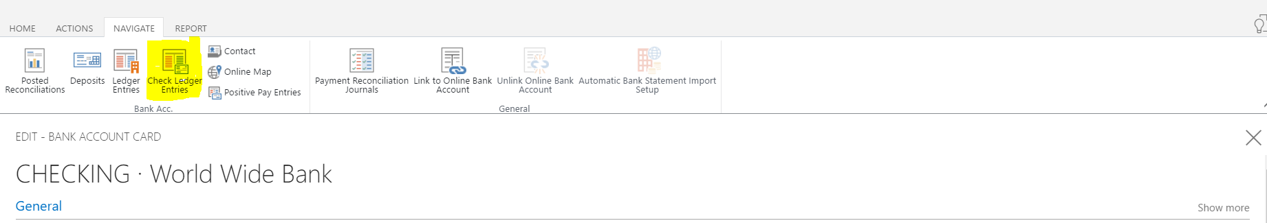Dynamics 365 for Financials – Issue and Void Checks - Logan