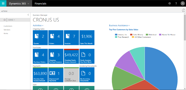 integrate microsoft dynamics 365 for sales with dynamics financials